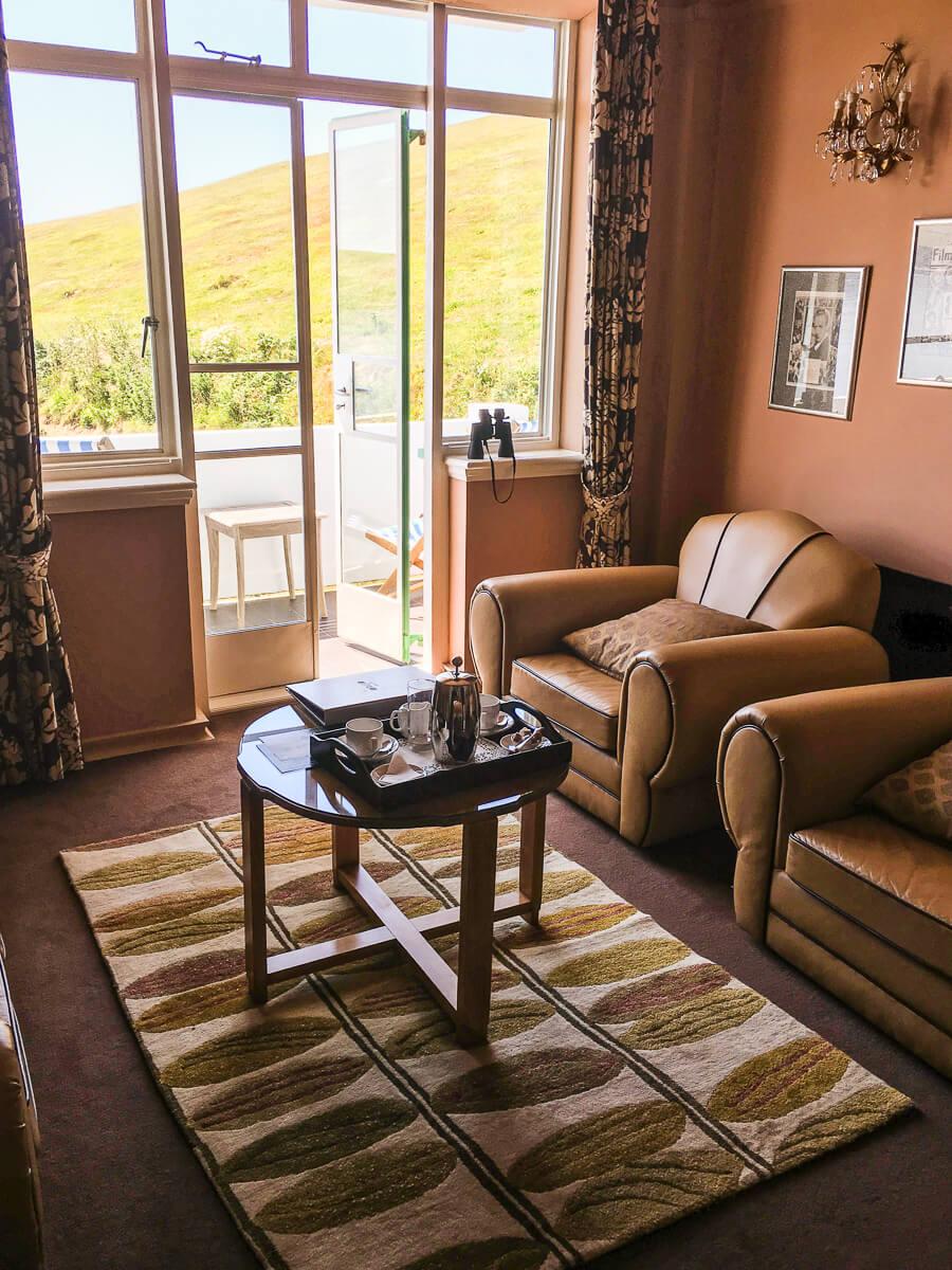 Living room in Nettlefold room