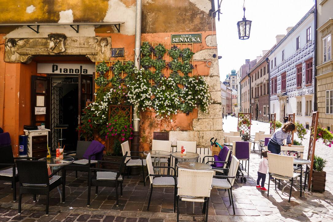 Café in Old Town Kraków