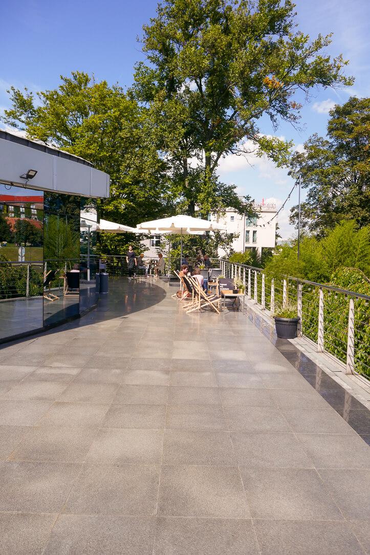 Café Manggha Kraków Poland