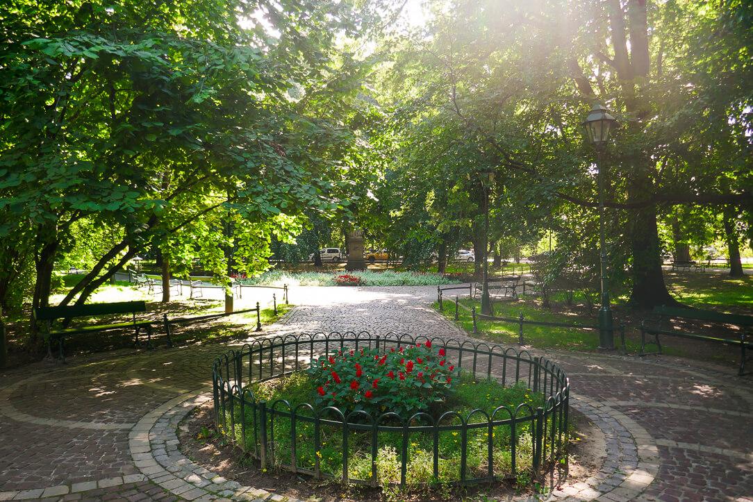 Planty Park in Kraków