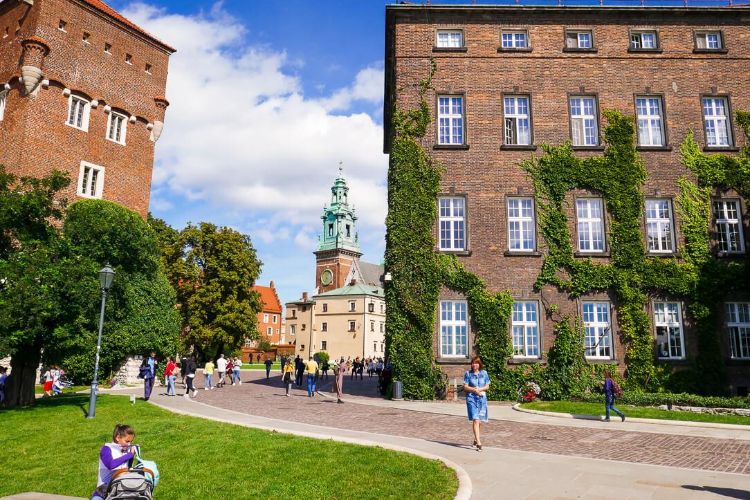 Wawel Castle in Kraków