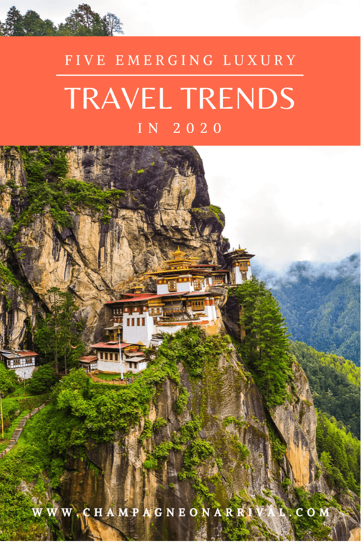 Wondering what the next destinations to travel to in 2020 are? Here is a round up of five emerging travel trends in 2020 and under the radar travel destinations to go to before everyone else #travelinspiration #travel2020 #champagneonarrival
