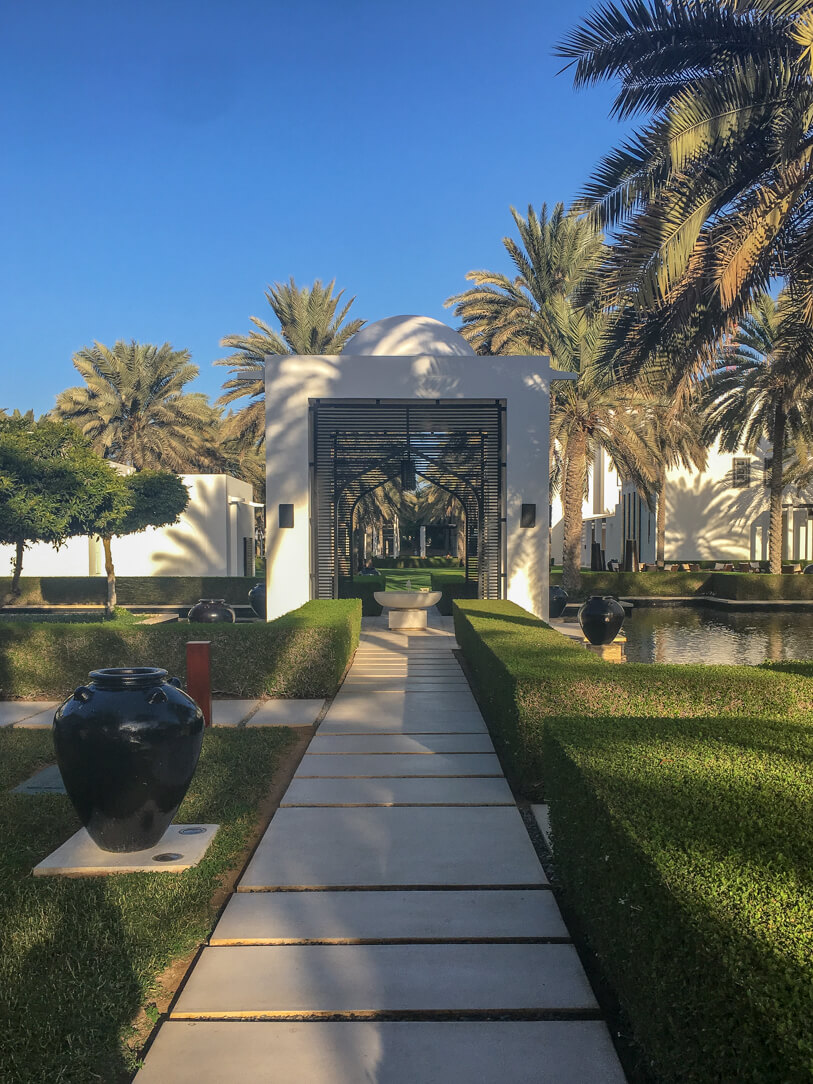 Grounds of the Chedi