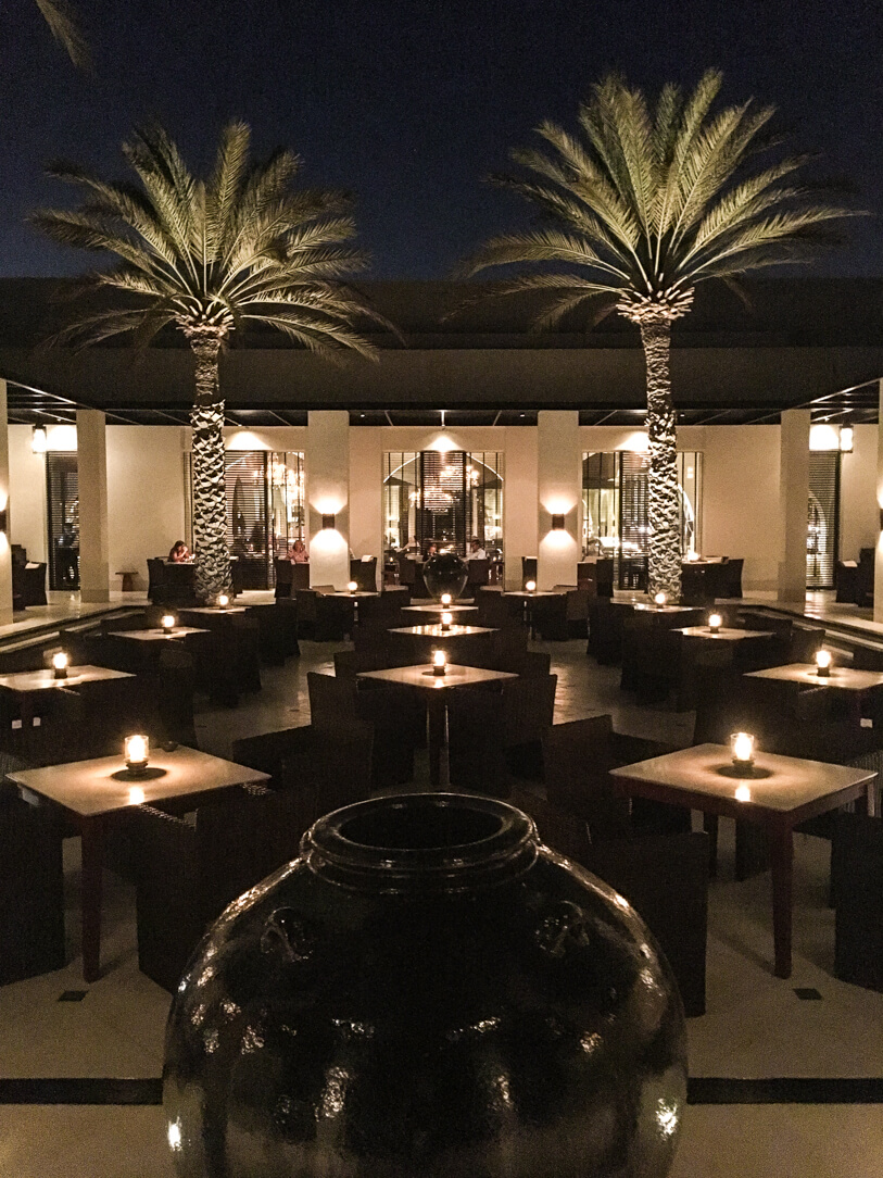 The Restaurant at The Chedi, a luxury hotel in Muscat