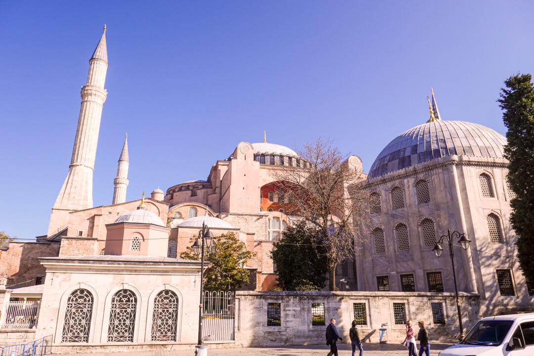 Exterior of Hagia Sophia