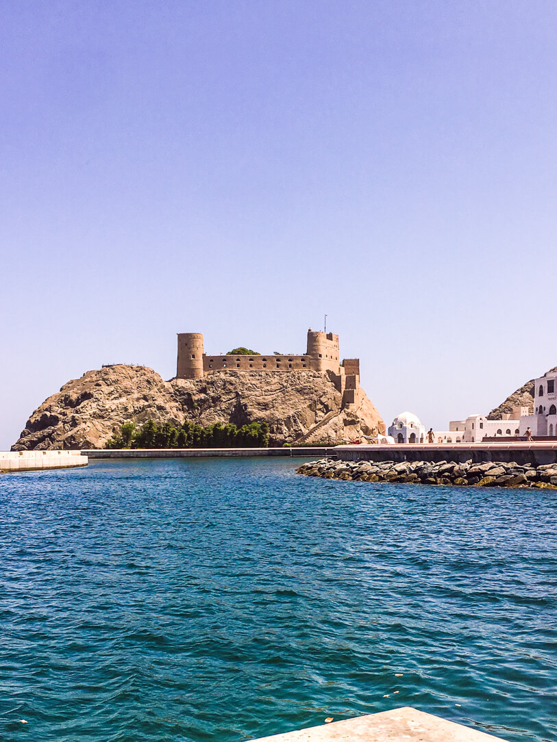 Al Jalali and Mirani forts on our private Muscat city tour