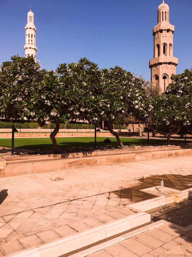 Top Things to do in Muscat: Exterior of Sultan Qaboos Grand Mosque
