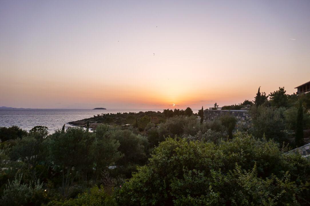Six Senses Kaplankaya Turkey a Luxury Hotel Review, watching the sun set over the sea