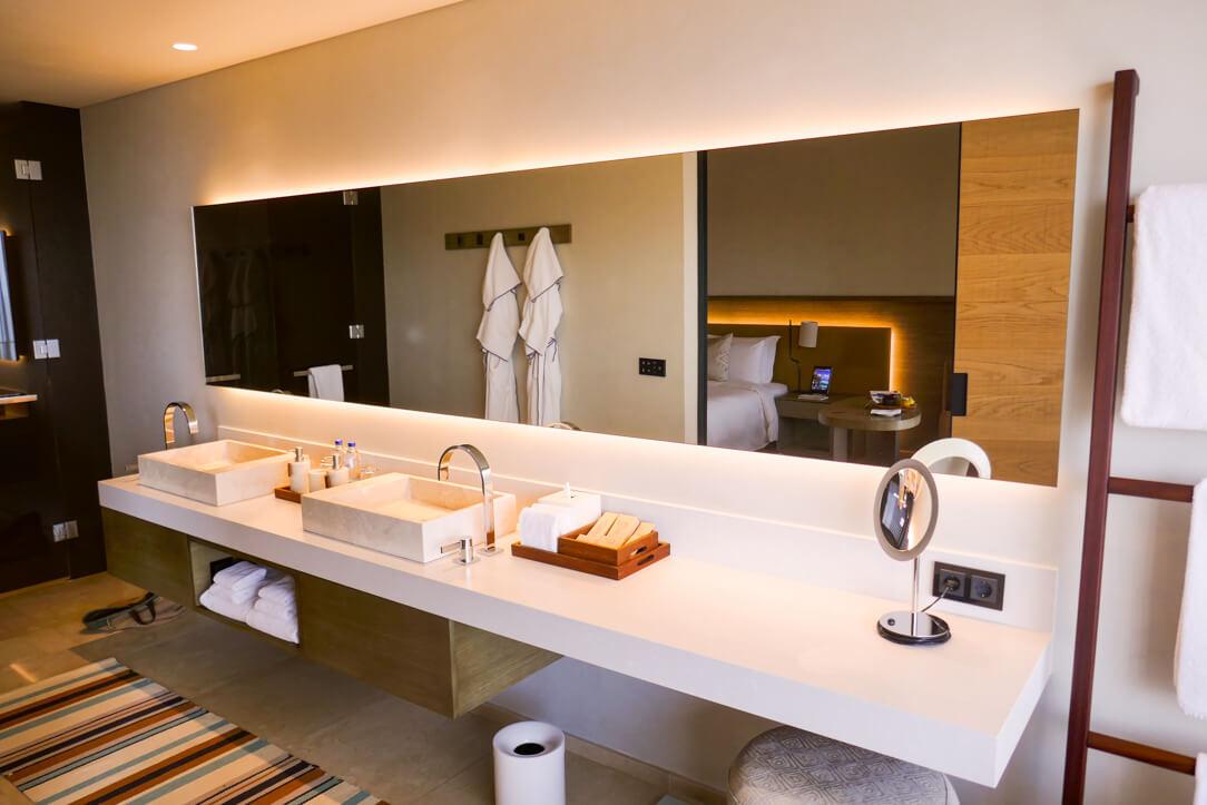 Bathroom at our Bodrum luxury hotel