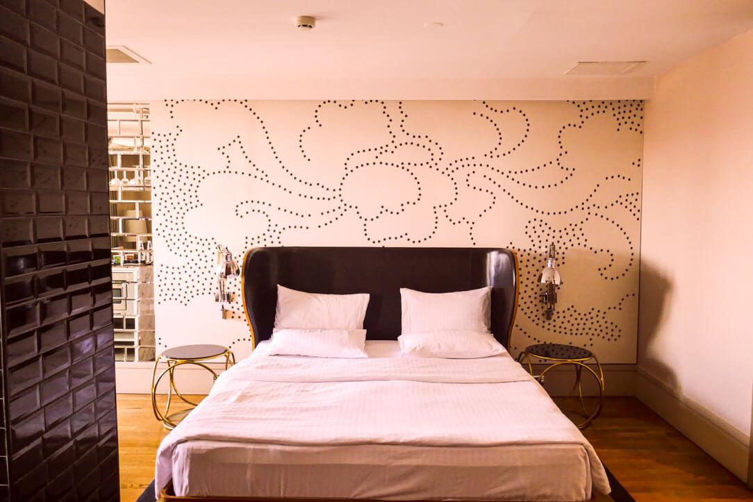 Our room at Witt Istanbul Suites in Beyoğlu