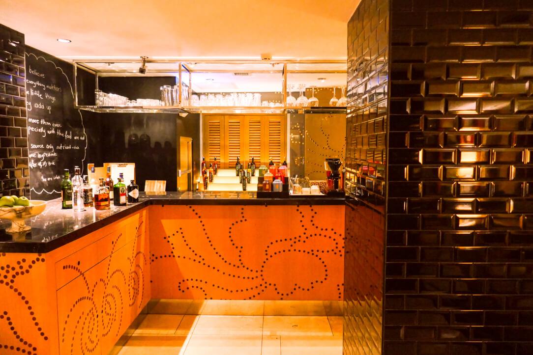 The bar at Witt Istanbul Suites in Beyoğlu