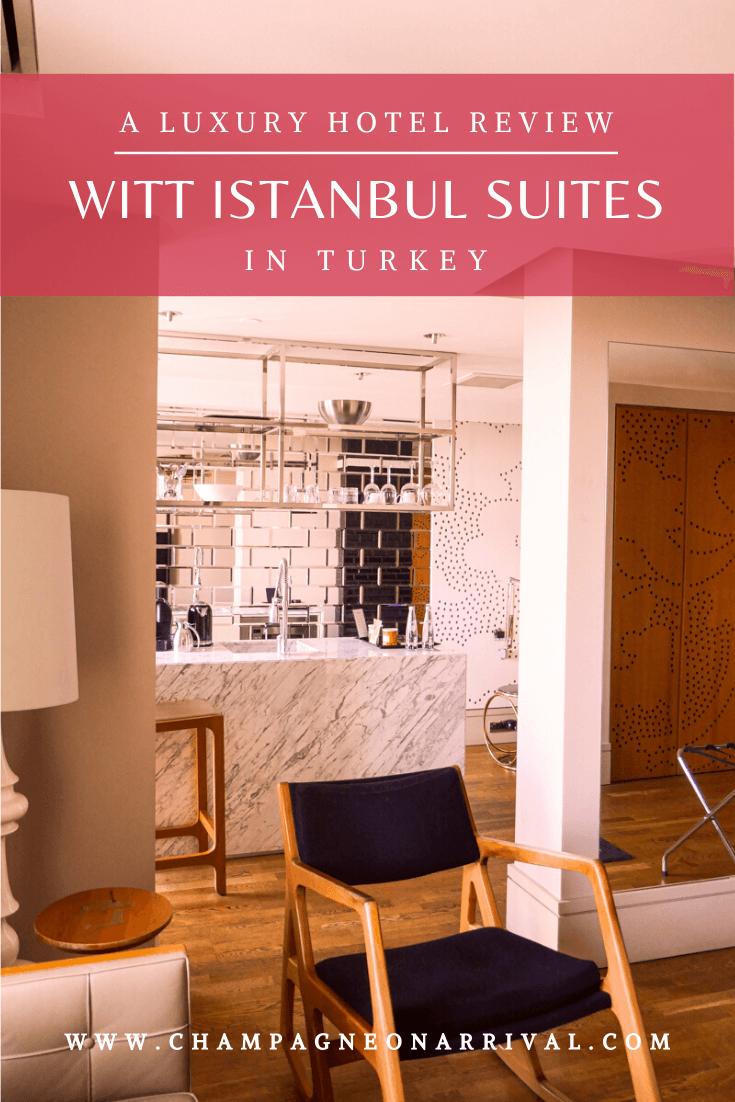Witt Istanbul Suites A Luxury Boutique Hotel in Beyoğlu