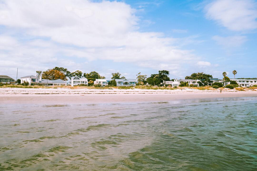Bollard Bay Beach in Knysna South Africa