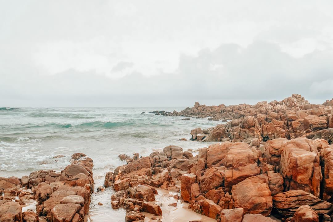 Noetzie Beach in Knysna South Africa