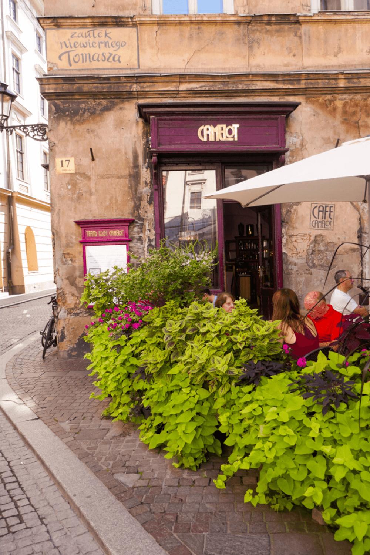 Cafe Camelot in Krakow Poland
