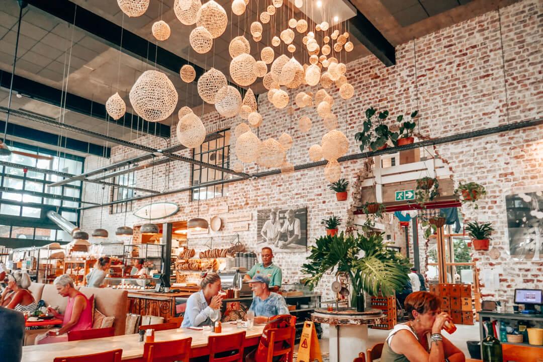 Ile de Pain Café on Thesen Island in Knysna South Africa