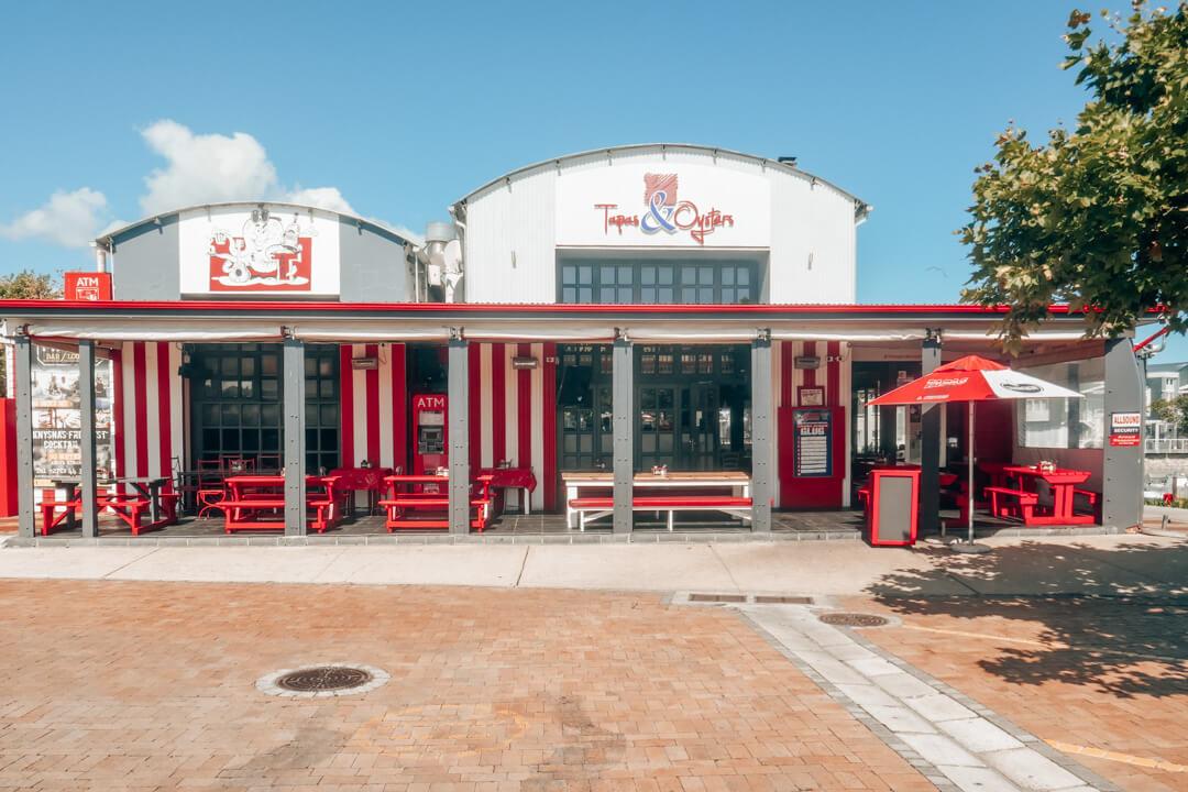 Tapas & Oysters Restaurant on Thesen Island in Knysna