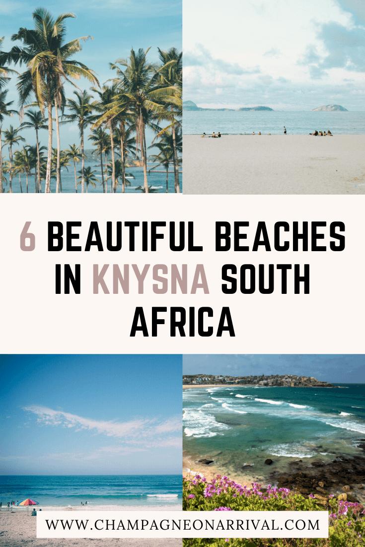 Pin for Six Beautiful Beaches in Knysna South Africa