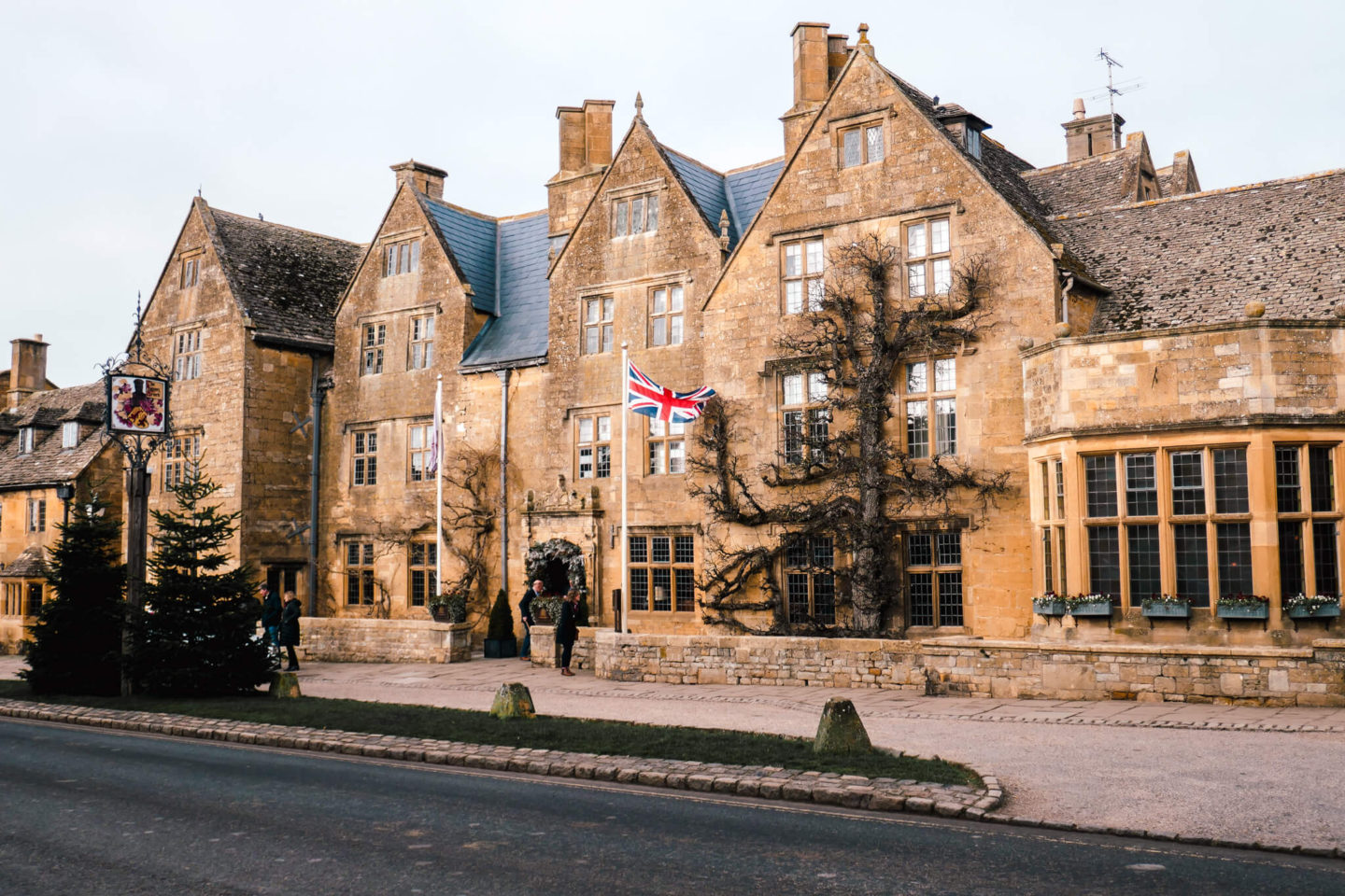 The Lygon Arms, a boutique luxury hotel in the village of Broadway in the Cotswolds