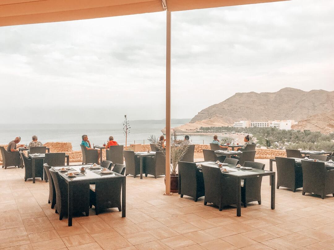 Sultanah Restaurant at the Shangri-La Al Husn in Muscat Oman