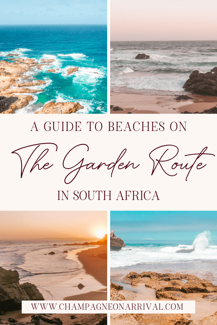 Pin for A Guide to the Best Beaches on the Garden Route in South Africa