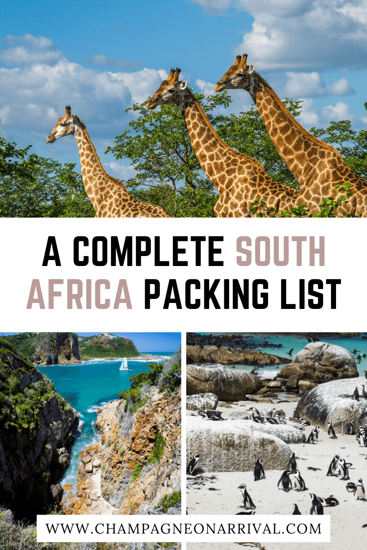 Pin for A Complete South Africa Packing List