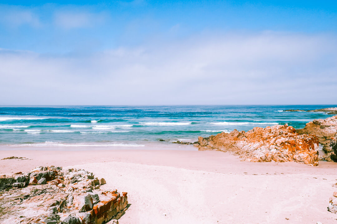 Lookout Beach in Plettenberg Bay on the Garden Route in South Africa