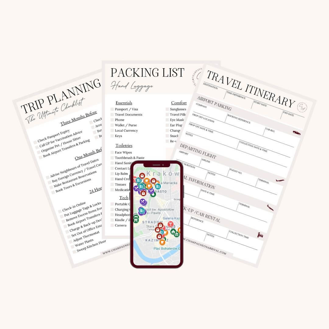 Travel Resource Library by Champagne on Arrival