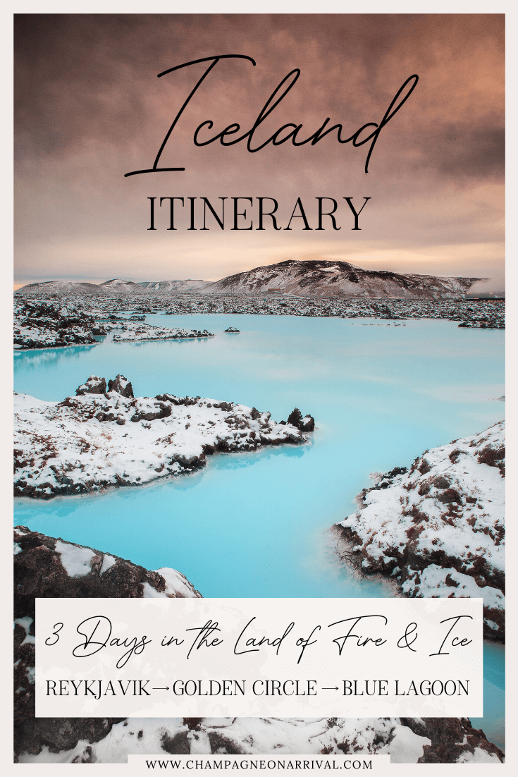 Pin for A Complete 3 Day Iceland Itinerary with Bonus Travel Tips