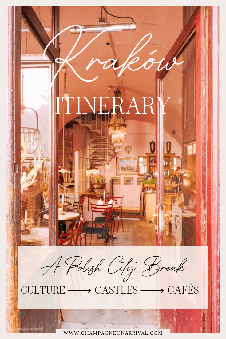Pin for Krakow Itinerary