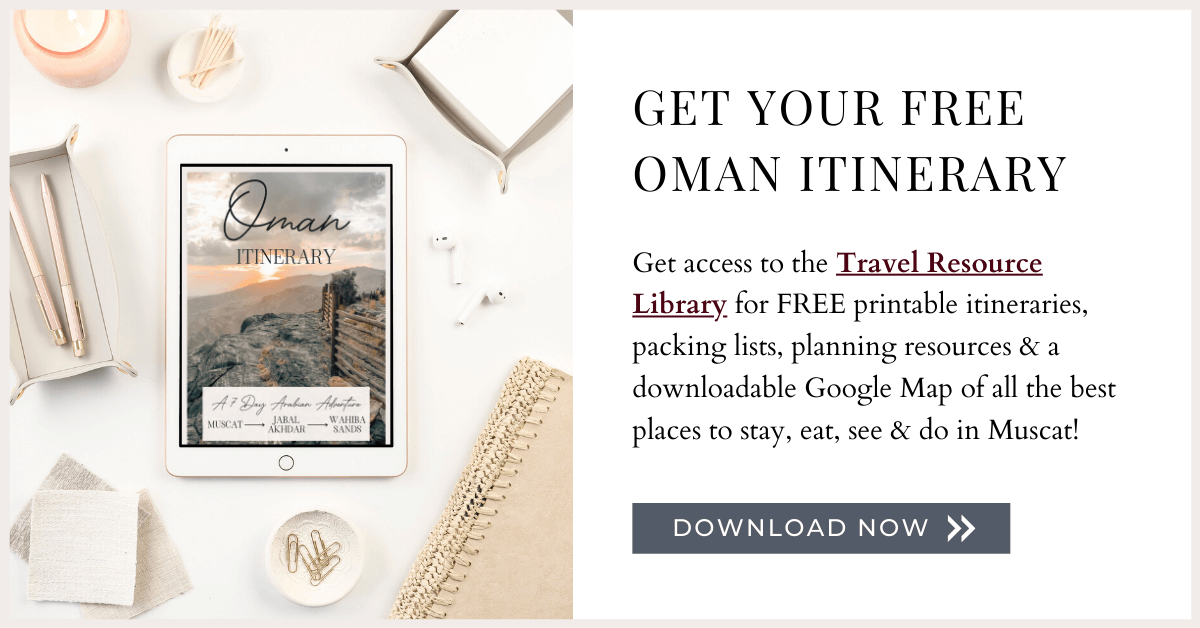 Get Access to the Travel Resource Library for free printable itineraries, packing lists, planning resources & downloadable Google Maps of all the best places to stay, eat, see & do in destinations around the world