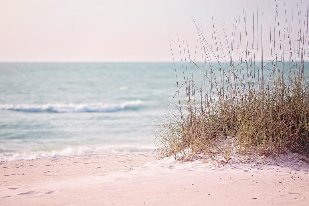 The future of travel post quarantine, an empty beach