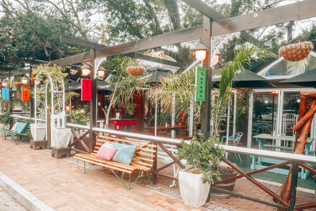 One of the restaurants in Wilderness