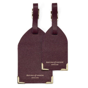 Aspinal Luggage Tags - Luxury Travel Gifts for Him