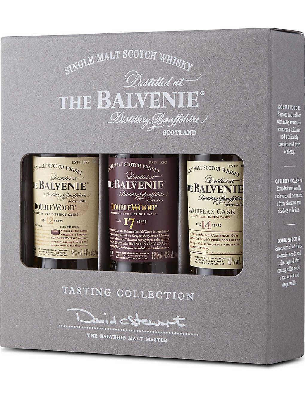 Balvenie Whisky Minis - Luxury Travel Gifts for Him