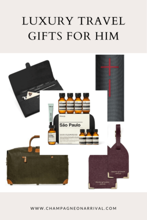 Luxury Travel Gift Ideas for Him