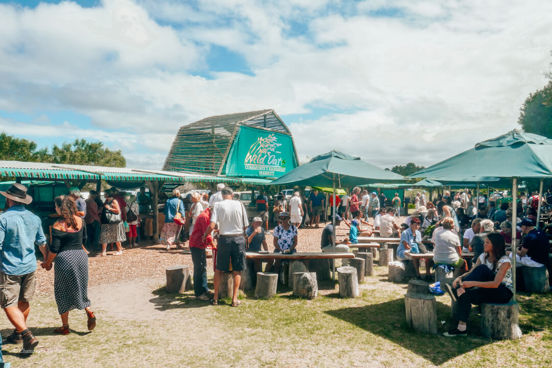 Wild Oats Market Sedgefield on the Garden Route in South Africa
